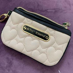 Cute small coin purse! Betsy Johnson